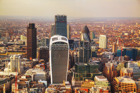 aerial, overview, of, london, city - 14078289