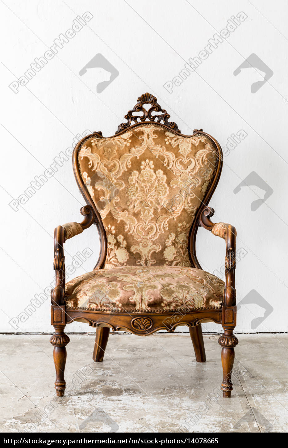 brown, retro, chair - 14078665