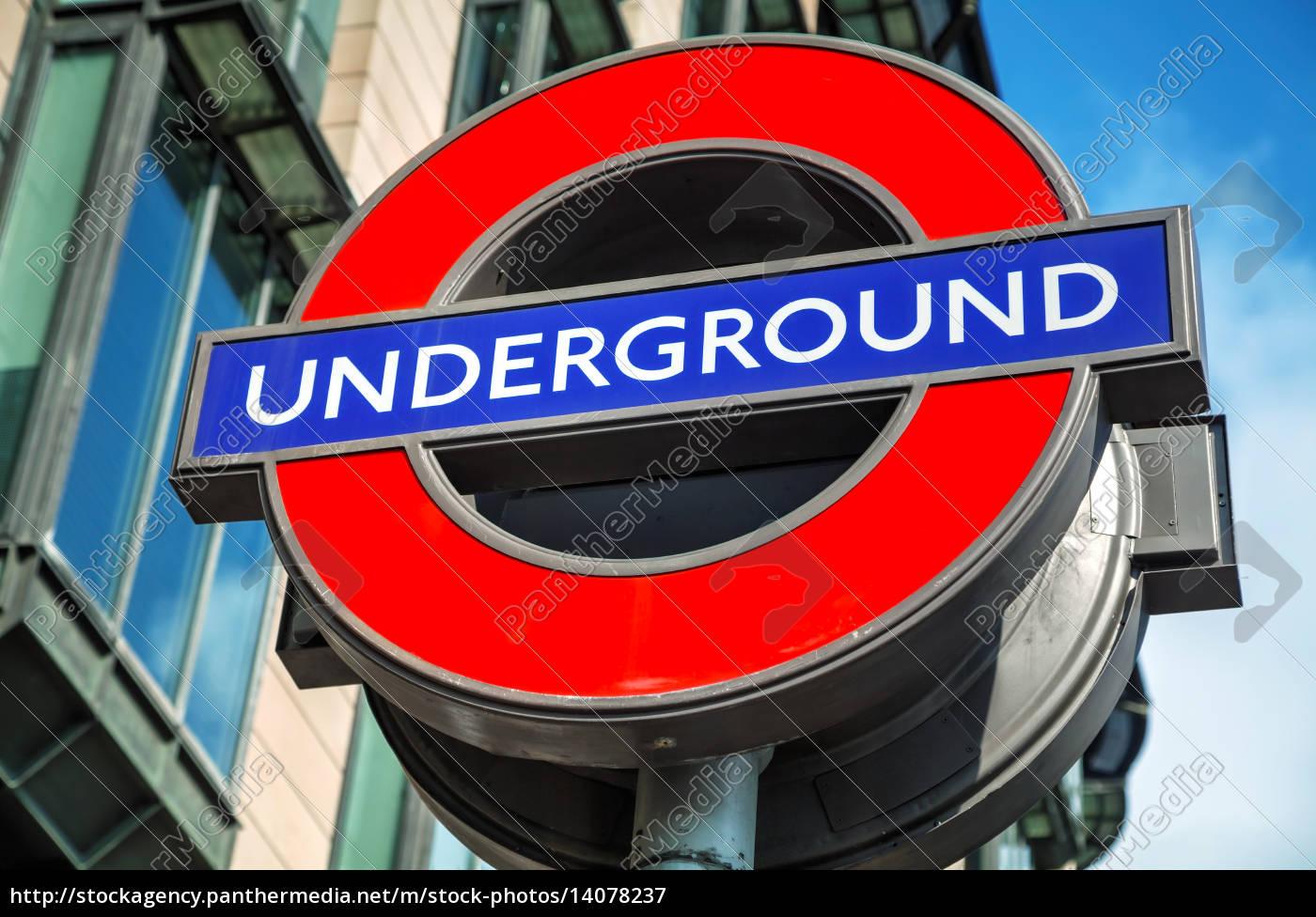london, underground, sign - 14078237