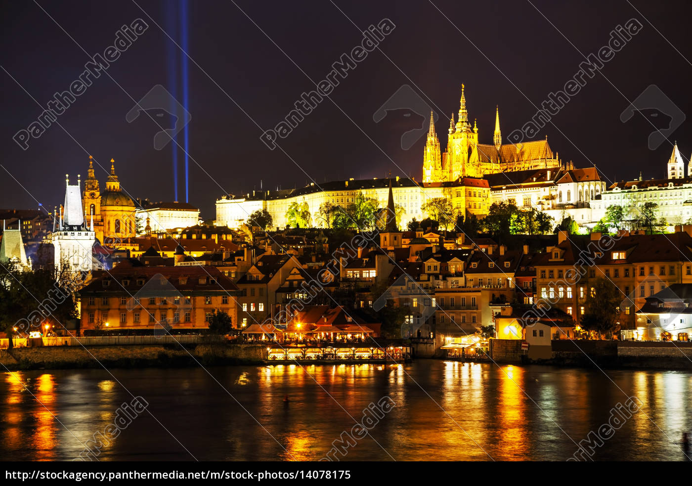 old, prague, cityscape, overview - 14078175