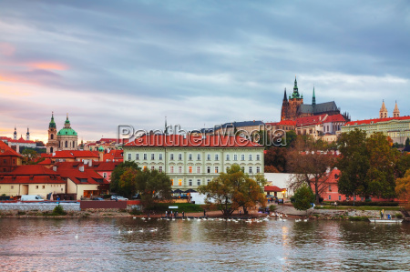 old, prague, cityscape, overview - 14078185
