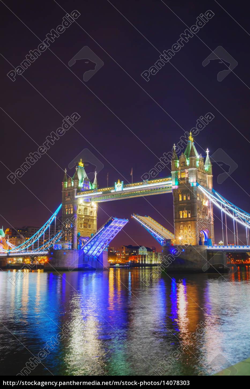 tower, bridge, in, london, , great, britain - 14078303