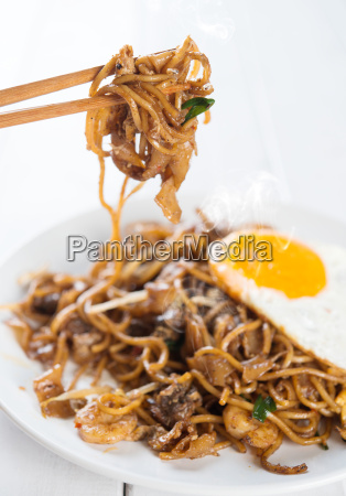 asian, dish, stir, fried, char, kuey - 14079131
