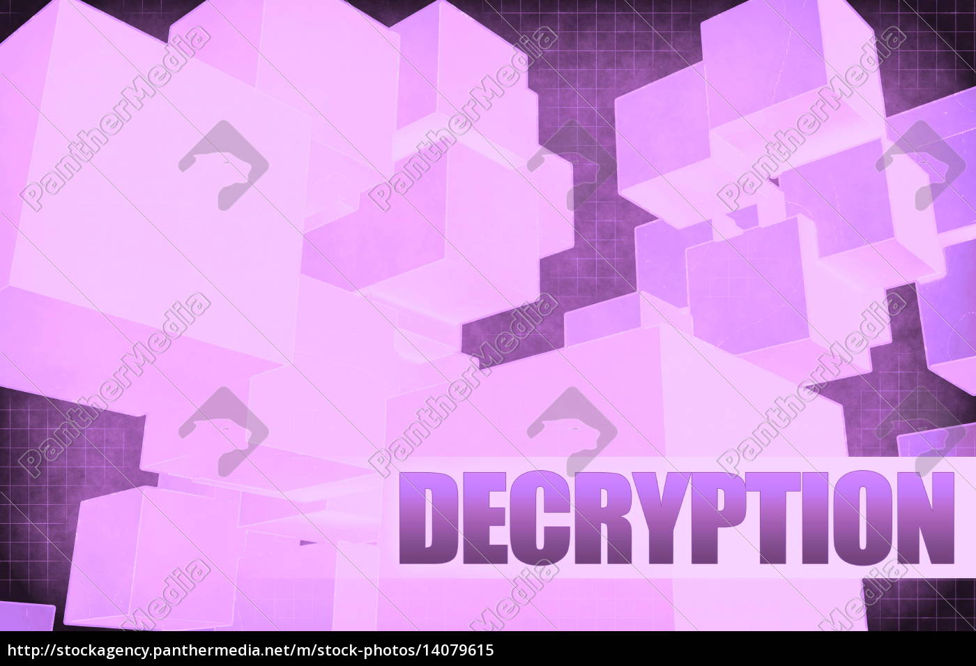 decryption, on, futuristic, abstract - 14079615