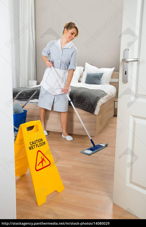 female, maid, cleaning, floor - 14080029