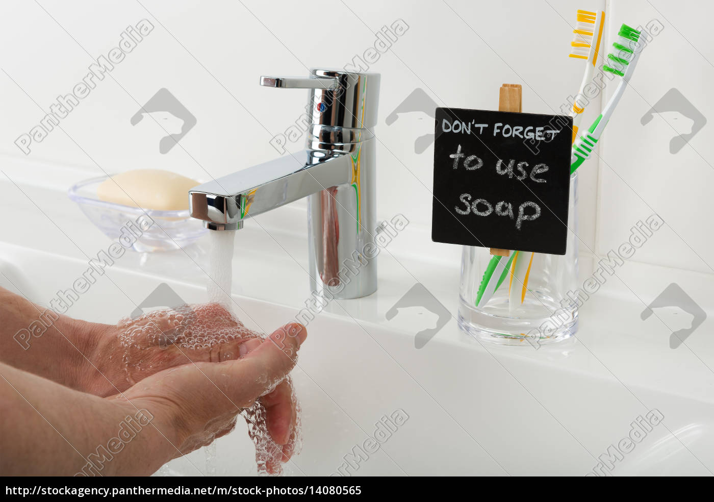 reminder, to, use, soap, in, the - 14080565