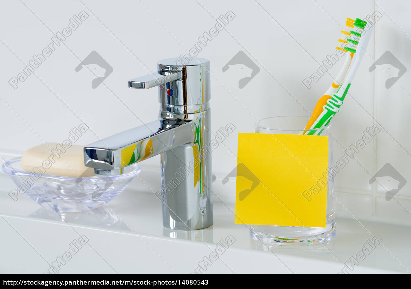 yellow, post, it, for, copy, space - 14080543