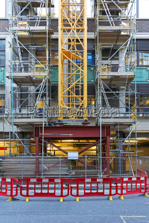 construction crane base
