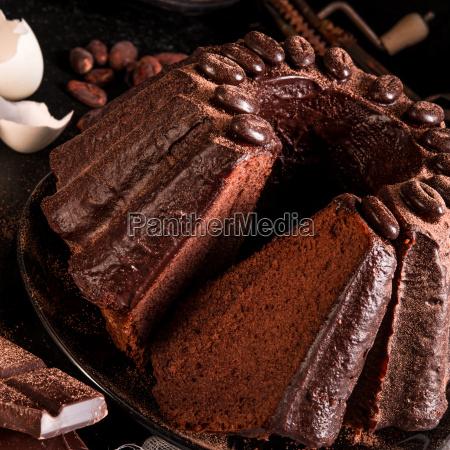 chocolate, cake - 14081851