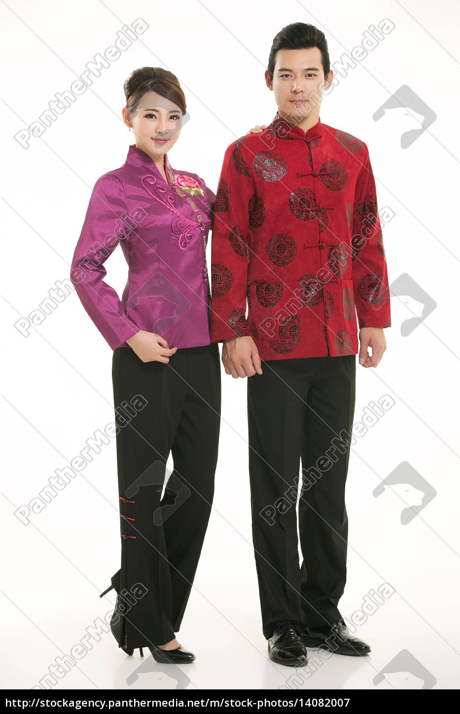 wearing, chinese, clothing, waiter, in, front - 14082007