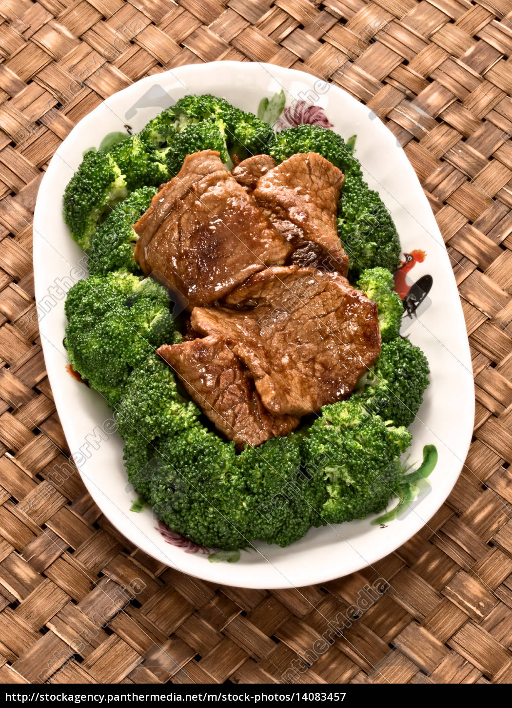 american, chinese, beef, and, broccoli - 14083457