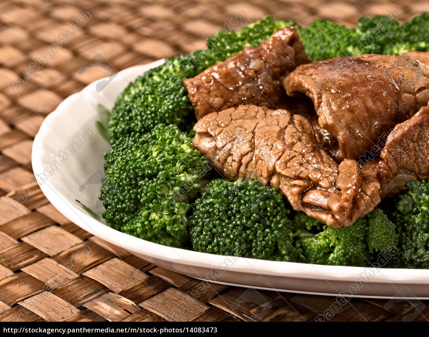 american, chinese, beef, and, broccoli - 14083473