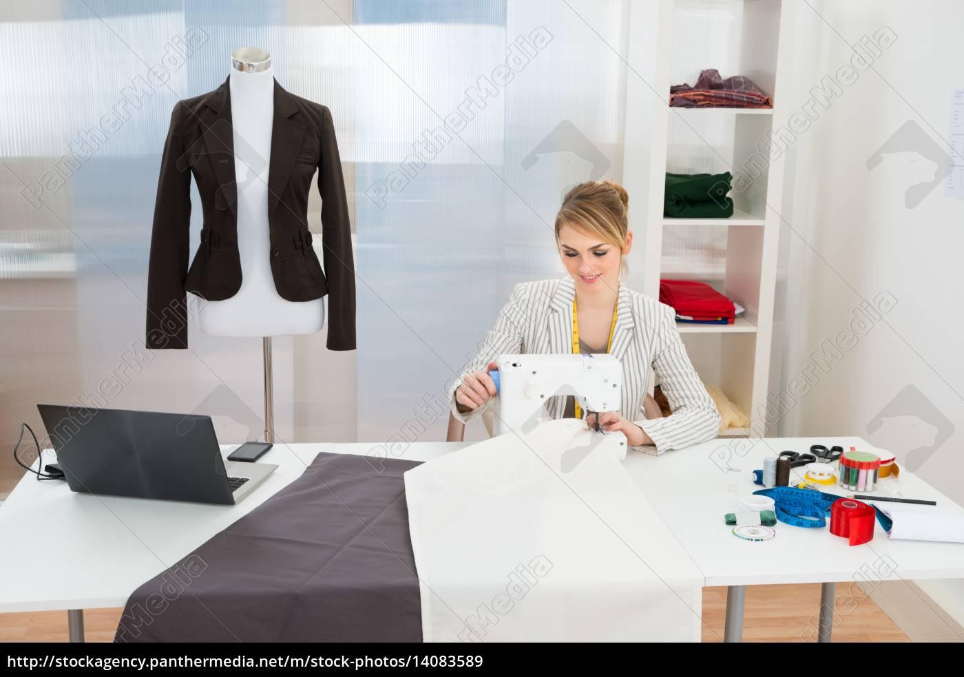 fashion, designer, stitching, fabric, on, sewing - 14083589