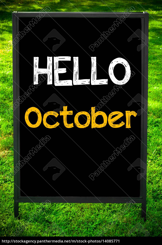 hello, october - 14085771