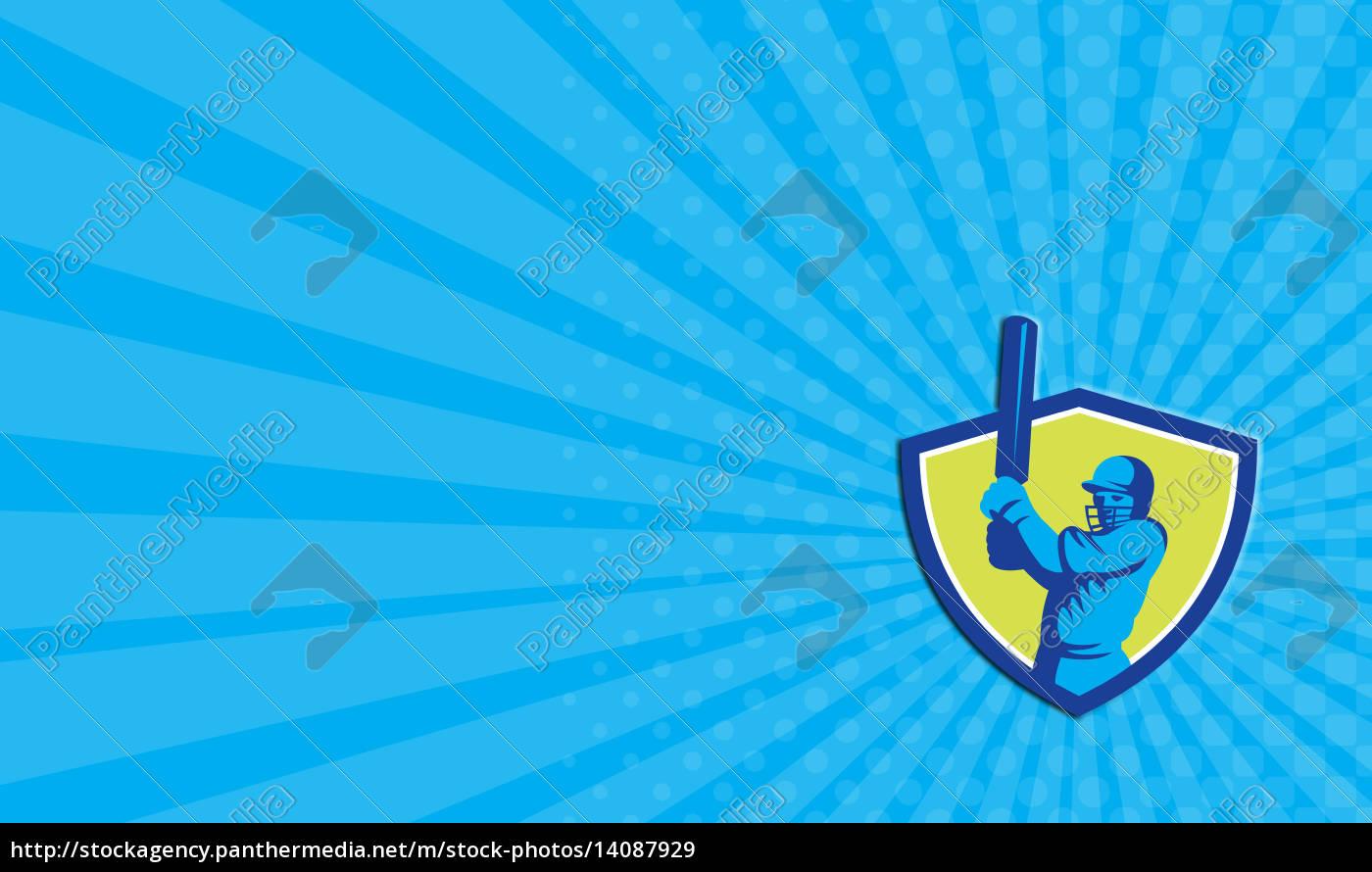business, card, cricket, player, batsman, batting - 14087929