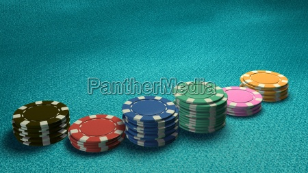 casino, chips, of, bet, side, angle - 14087863
