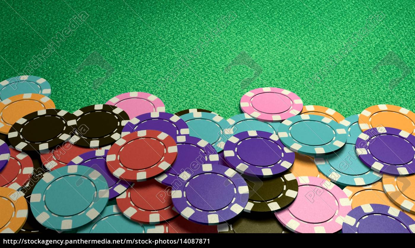 casino, colorful, chips, show, hand, front - 14087871