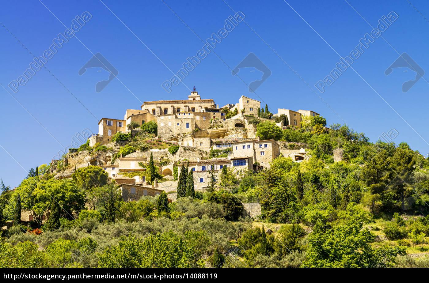 gordes, medieval, village - 14088119