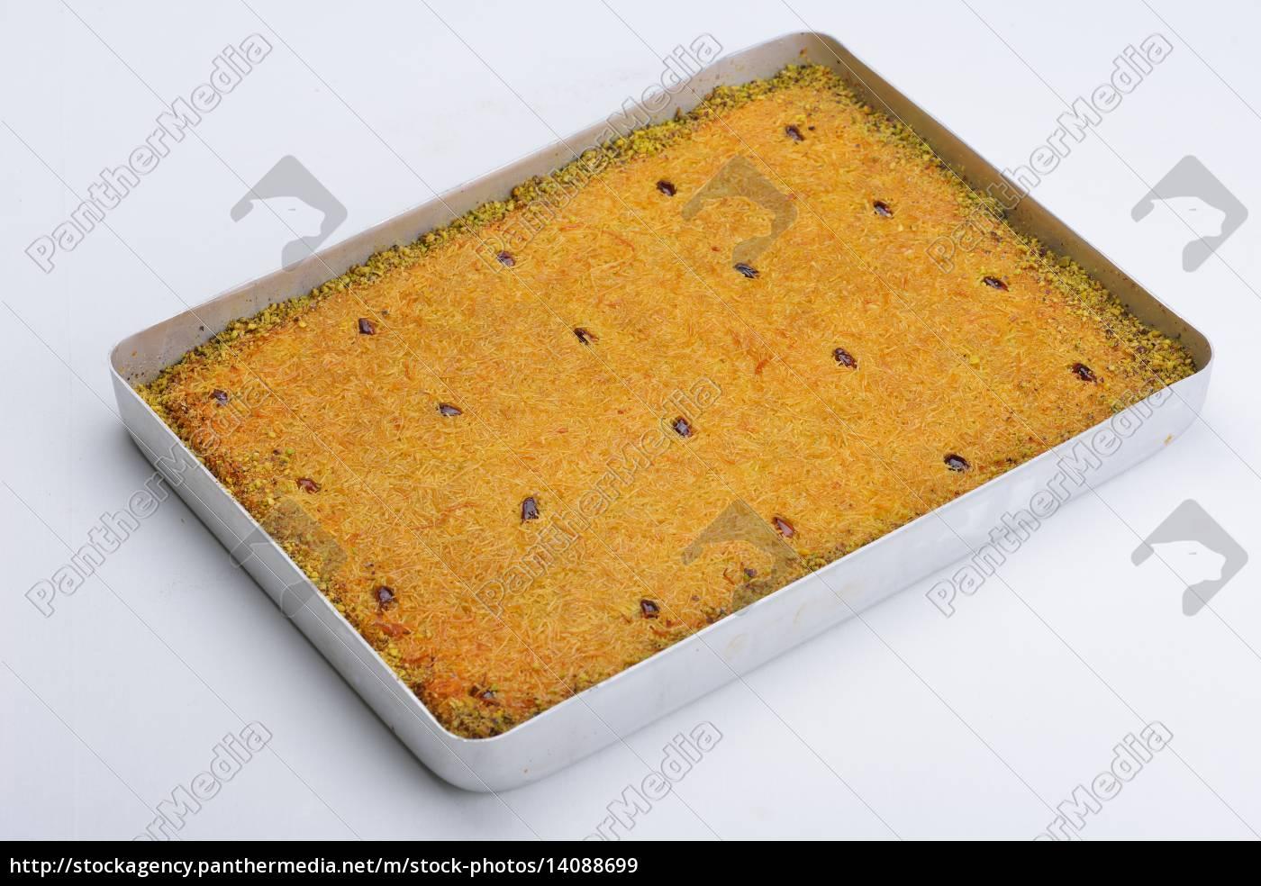 turkish, pastry, kadaif - 14088699