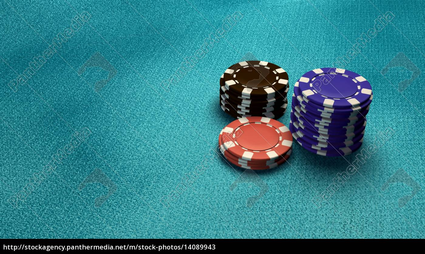 casino, chips, isolate, blue, table - 14089943
