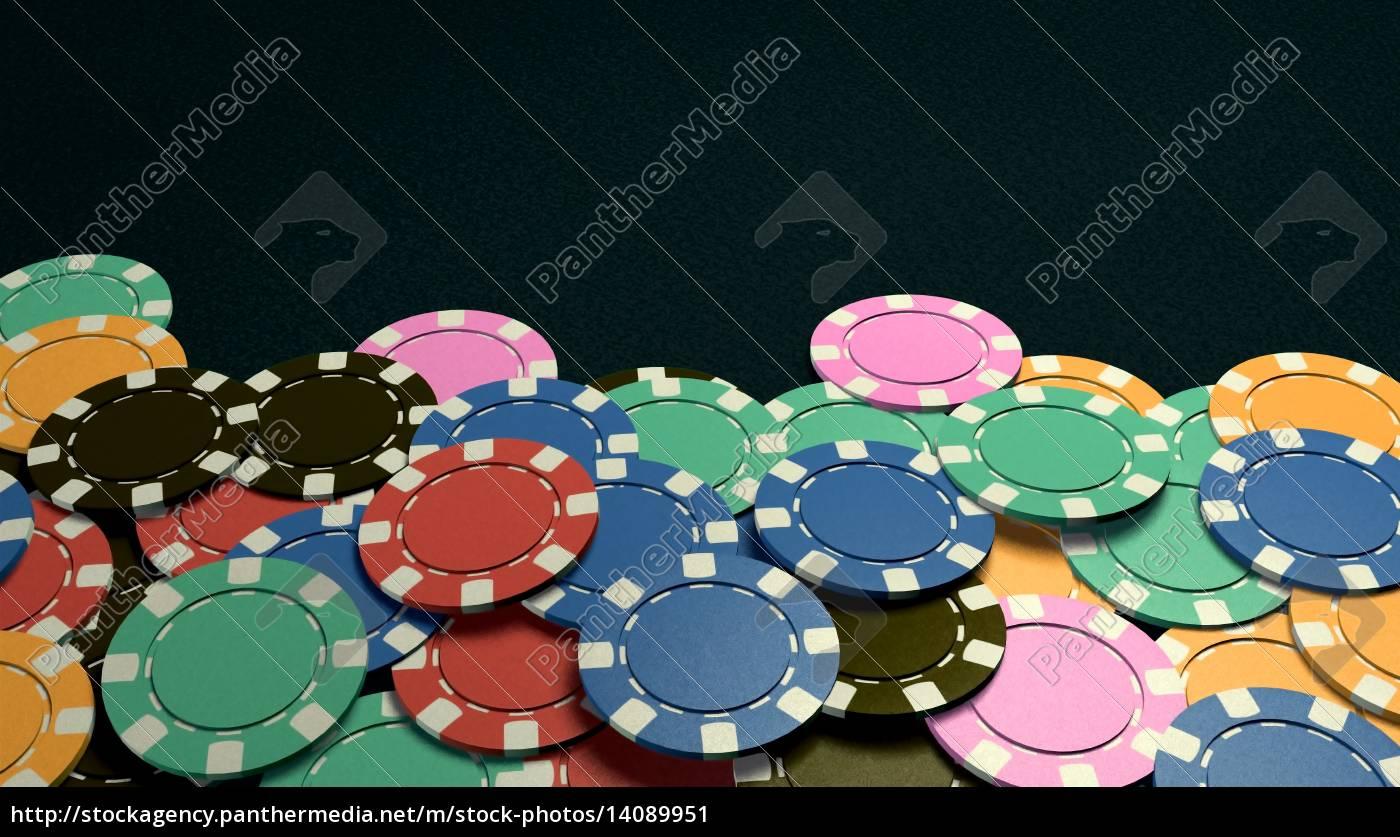 casino, chips, show, hand, dark, background - 14089951