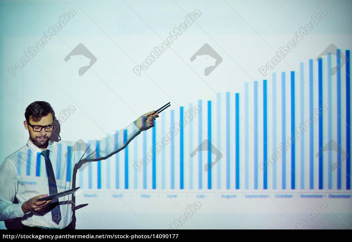 analyzing, chart - 14090177
