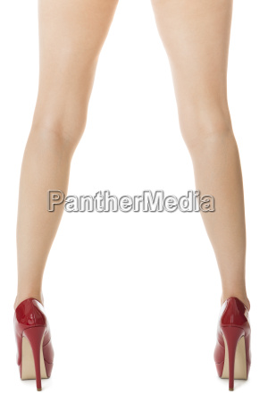 attractive, female, legs, with, red, high - 14090759