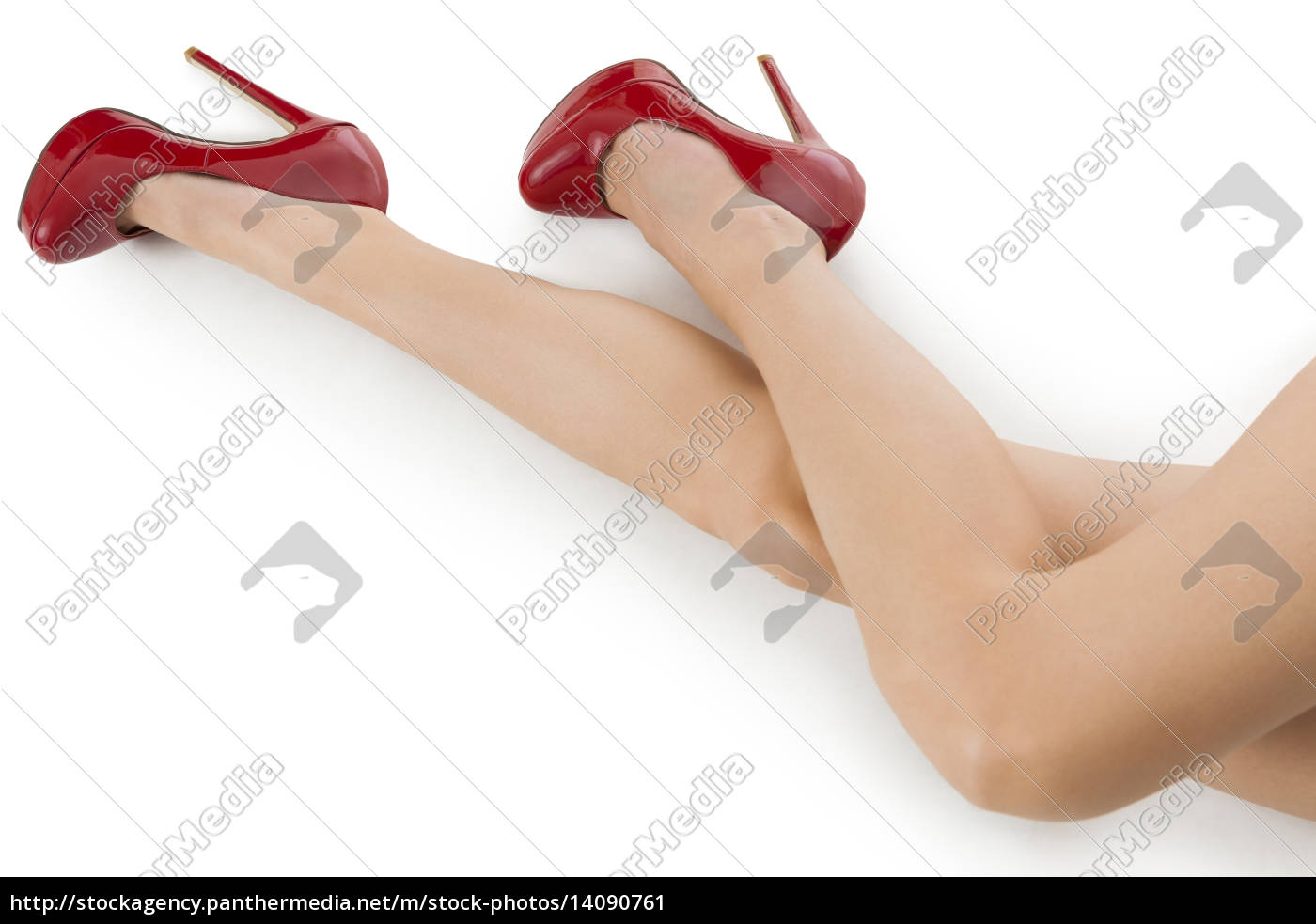 attractive, female, legs, with, red, high - 14090761