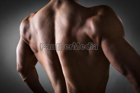back, of, athlete - 14090869