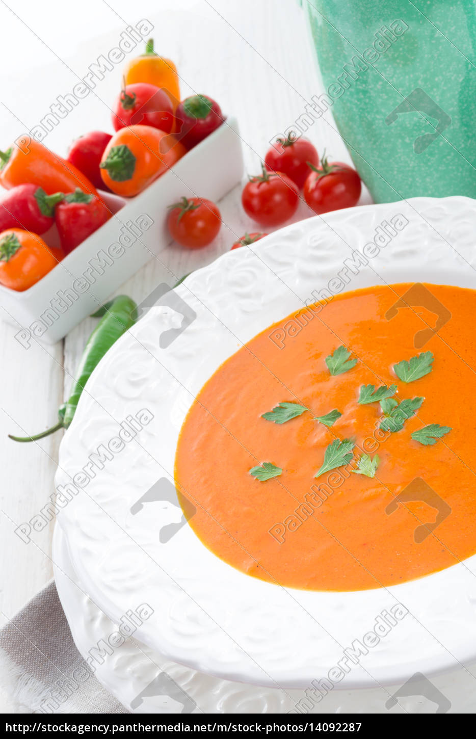 peppers, soup - 14092287