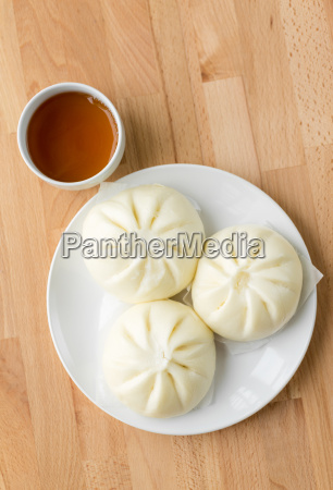 chinese, steamed, bread - 14093599