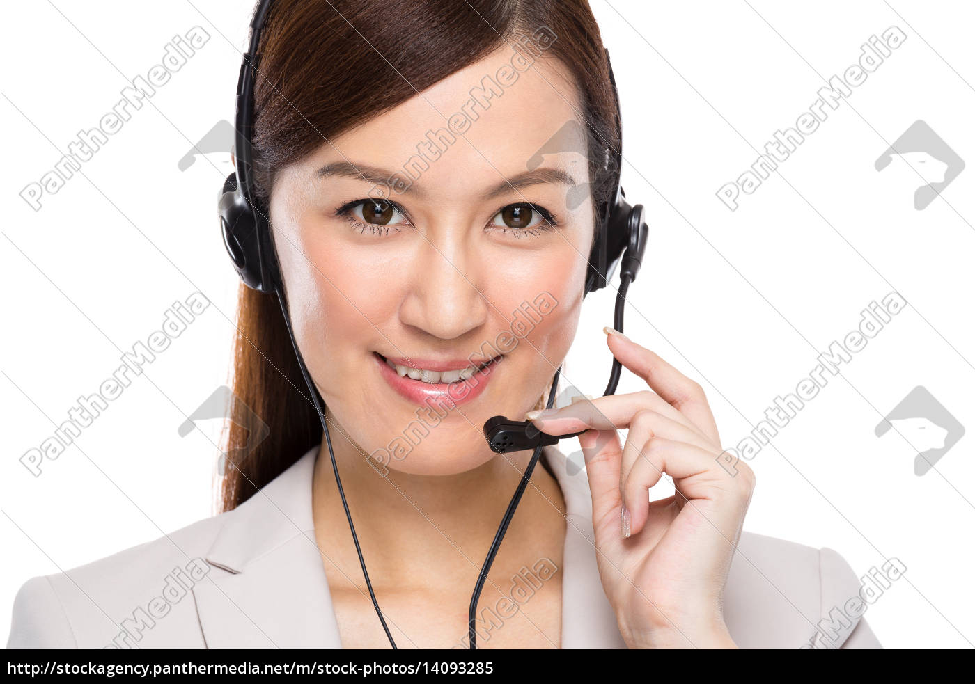 customer, services, operator, with, headset - 14093285