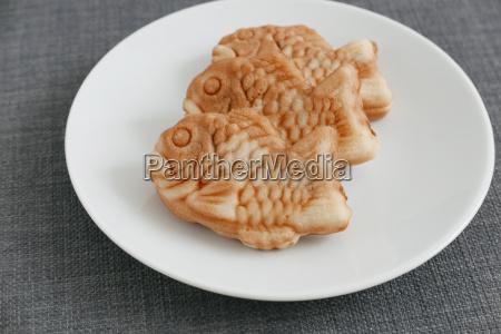 fished, shaped, cake, , taiyaki, of, japanese - 14093669