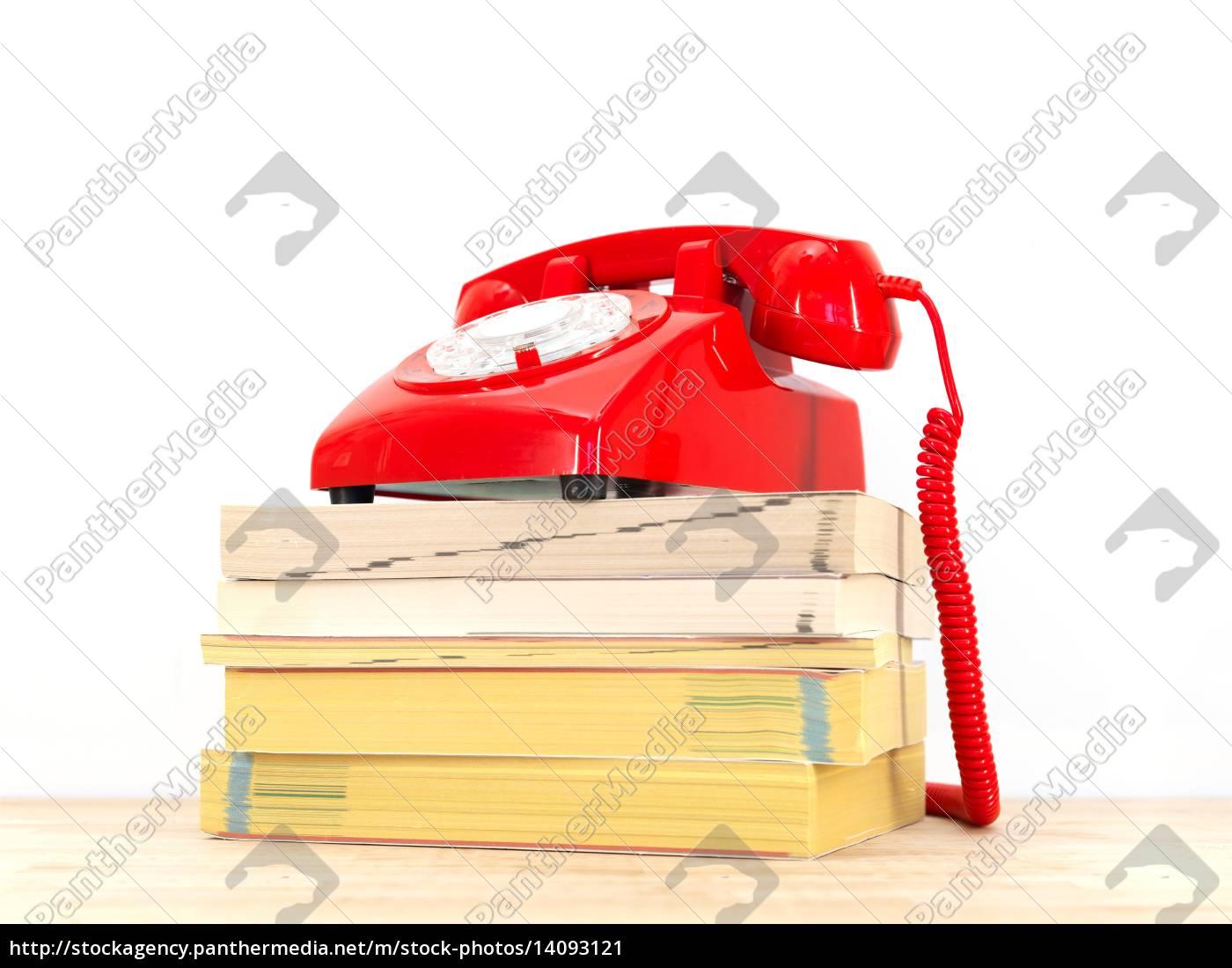 telephone, books - 14093121