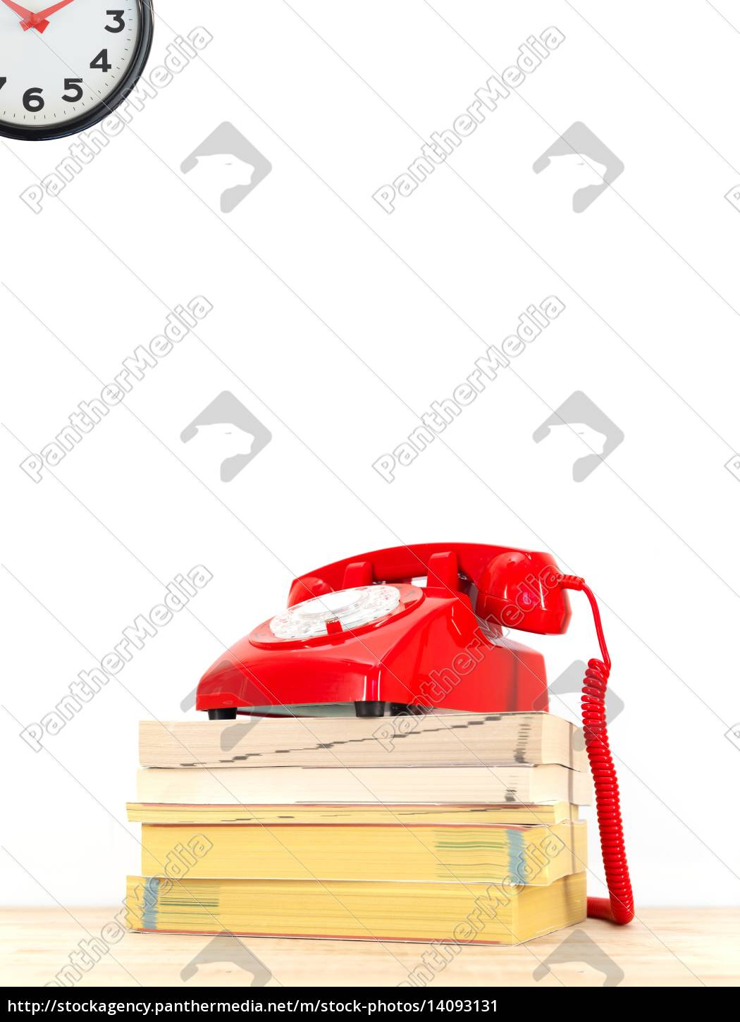 telephone, books - 14093131