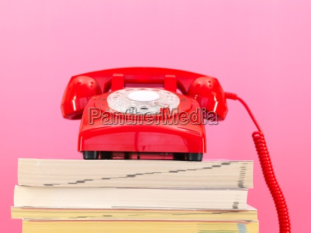 telephone, books - 14093141