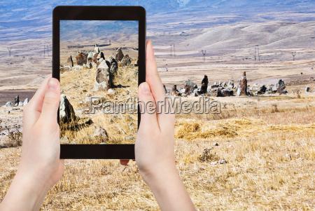 photo of menhirs zorats karer monument