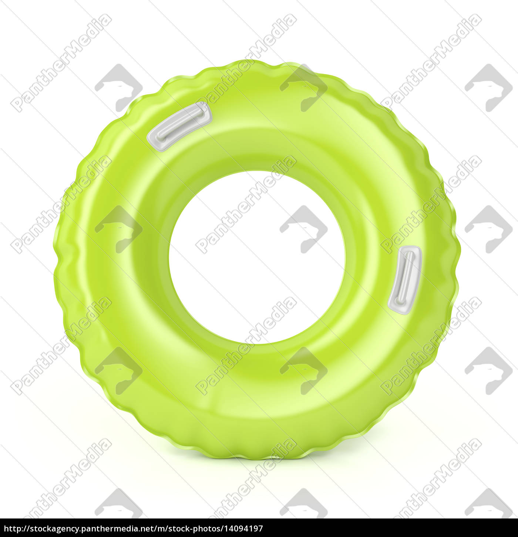 green, swim, ring - 14094197