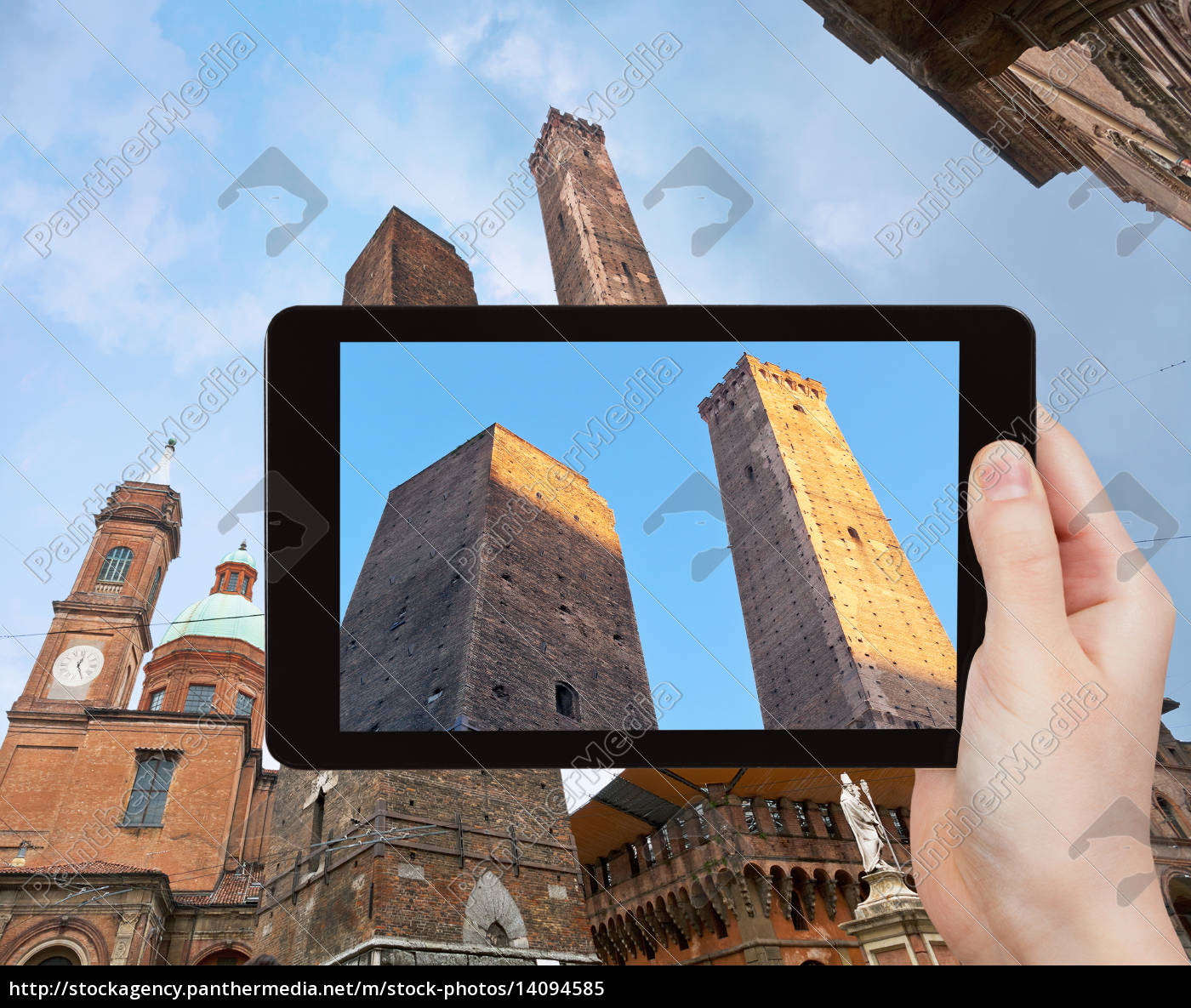 photo, of, due, torri, (two, tower) - 14094585