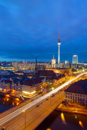 the, city, center, of, berlin, with - 14097813