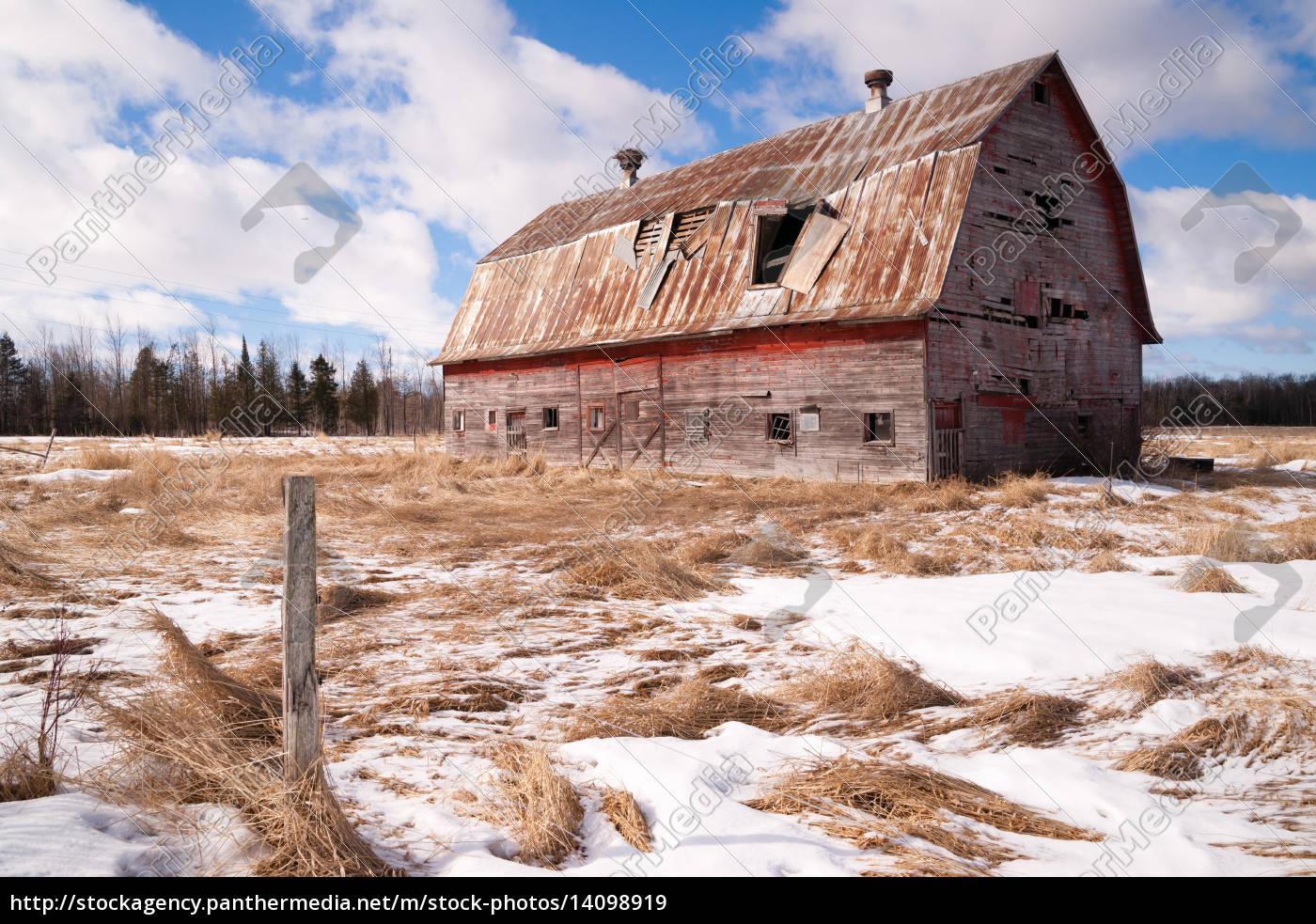 farm, field, forgotten, barn, decaying, agricultural - 14098919