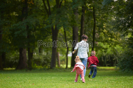 happy, family, playing, together, outdoor, in - 14098837