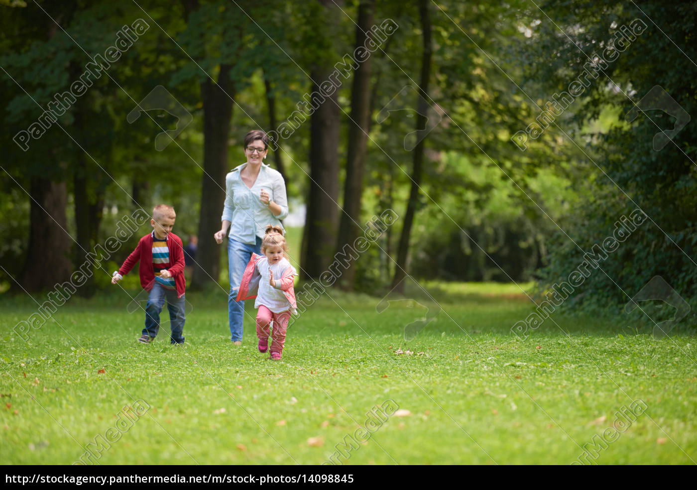 happy, family, playing, together, outdoor, in - 14098845