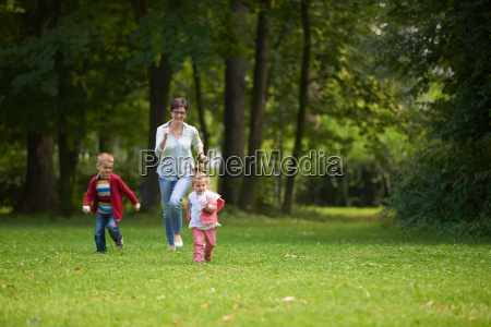 happy, family, playing, together, outdoor, in - 14098847