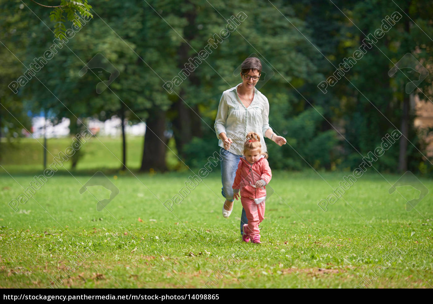 happy, family, playing, together, outdoor, in - 14098865