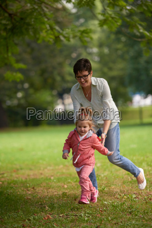 happy, family, playing, together, outdoor, in - 14098877