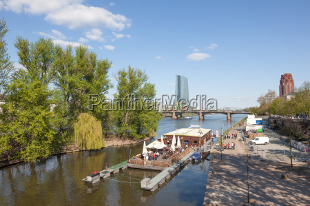 float cafe and restaurant at the