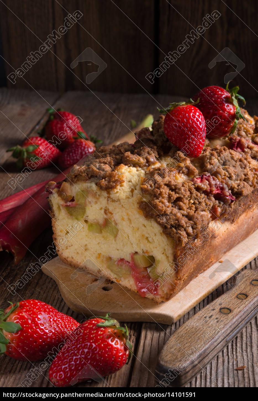 rhubarb, cake - 14101591