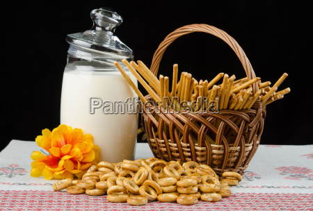 still, life, with, drying, milk, sweet - 14102269