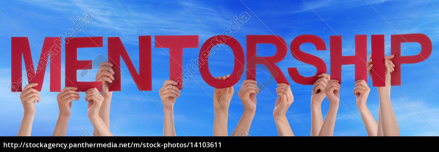 hands, hold, red, straight, word, mentorship - 14103611
